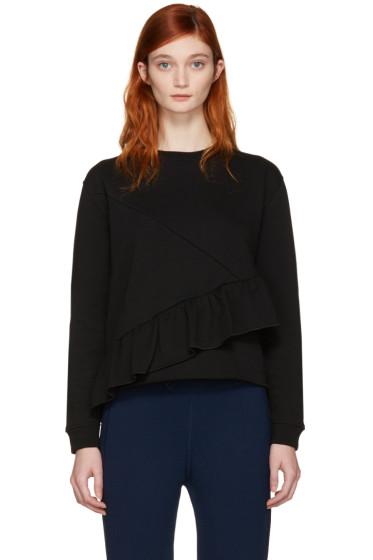 Carven - Black Ruffle Pullover