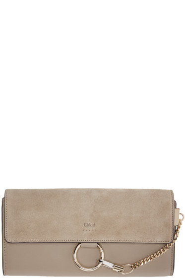 Chloé - Grey Medium Faye Wallet