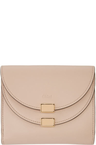 Chloé - Pink Square Georgia Wallet