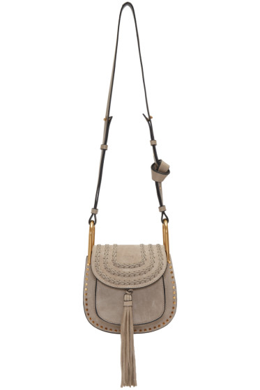 Chloé - Grey Mini Hudson Bag