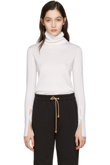 Chloé - Ivory Wool Turtleneck