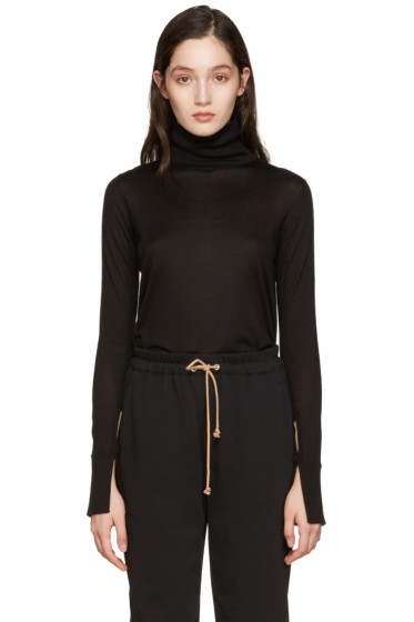 Chloé - Black Wool Turtleneck