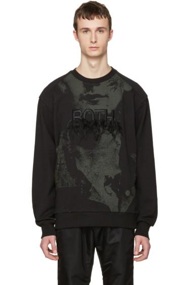 Juun.J - Black 'Both' Pullover