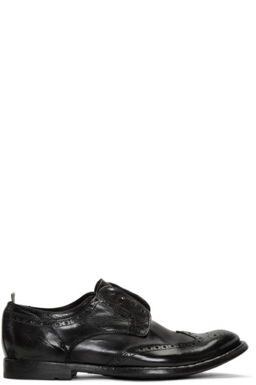 Officine Creative - Black Anatonia 3 Brogues