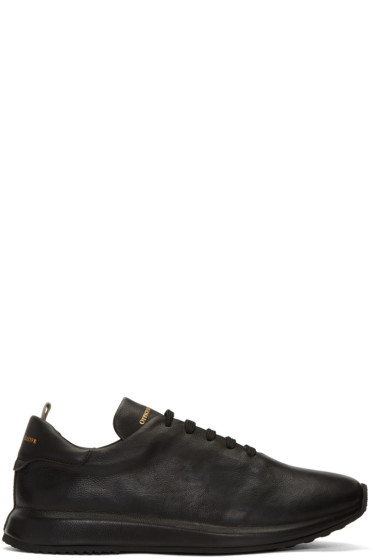 Officine Creative - Black Race 1 Sneakers