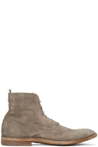 Officine Creative - Grey Standard 7 Boots