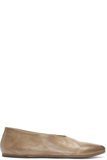 Marsèll - Brown Coltellacio Ballerina Flats