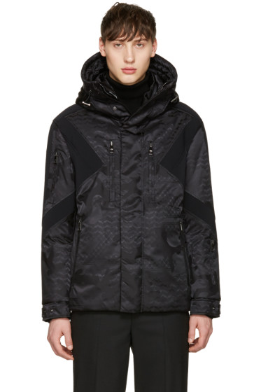 Neil Barrett - Black Panelled Ski Jacket