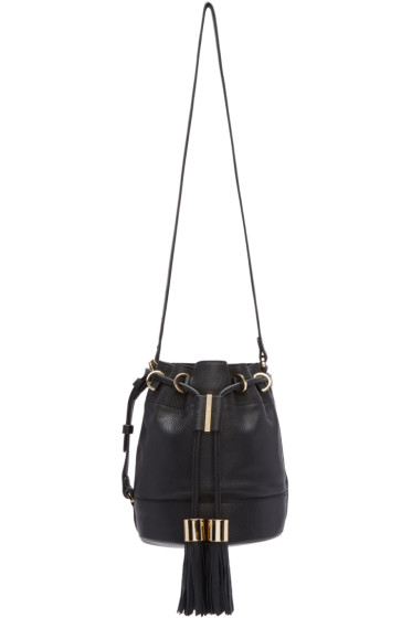 See by Chloé - Black Vicki Bucket Bag