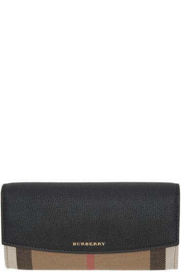 Burberry - Black Porter Wallet