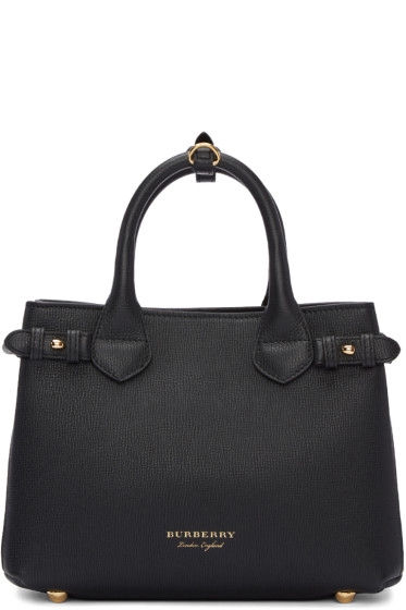 Burberry - Black Small Banner Tote