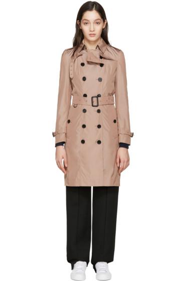 Burberry - Pink Sandringham Trench Coat