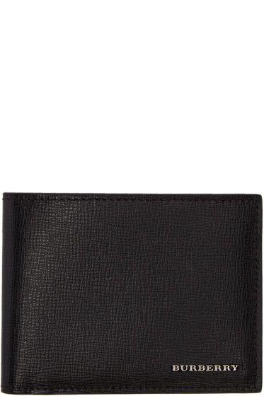 Burberry - Black Leather Wallet