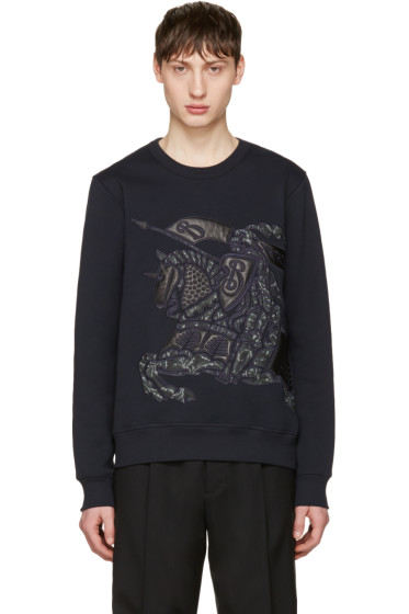 Burberry - Navy Lyster Pullover