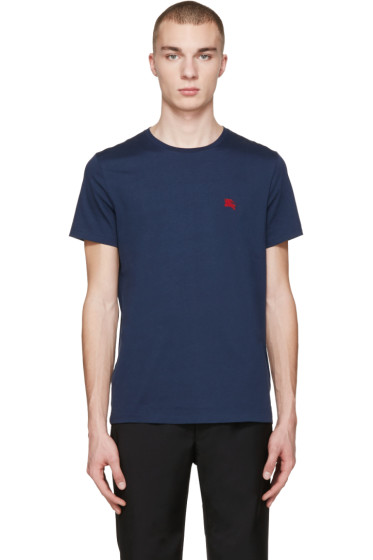 Burberry - Navy Tunworth T-Shirt