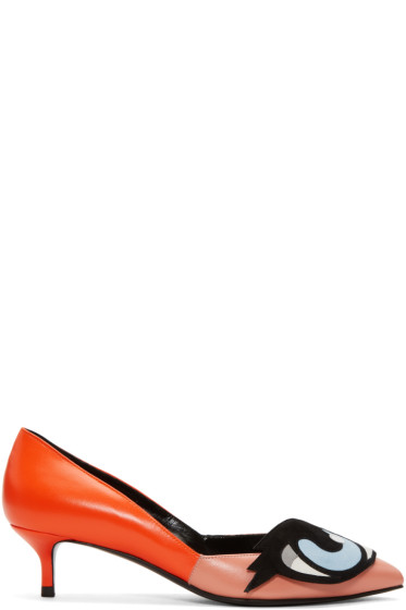 Pierre Hardy - Orange Oh Roy Heels