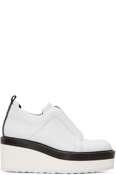 Pierre Hardy - White Mega Slider Sneakers