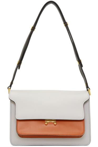 Marni - Grey Medium Trunk Bag