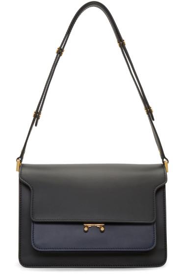 Marni - Black Medium Trunk Bag