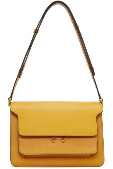 Marni - Orange Medium Trunk Bag