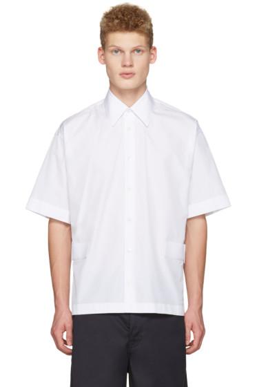 Marni - White Velcro Shirt