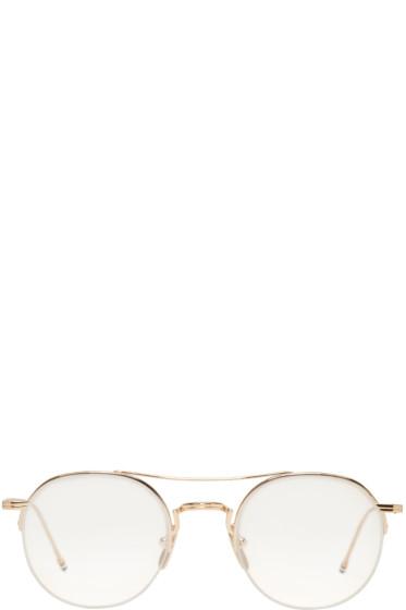 Thom Browne - Gold TB 903 Glasses