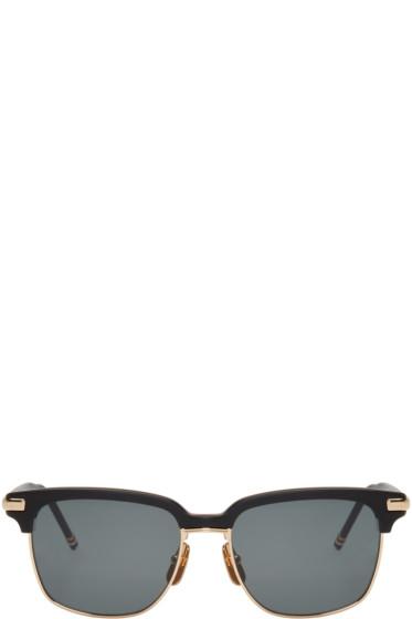 Thom Browne - Black TB 713 Sunglasses