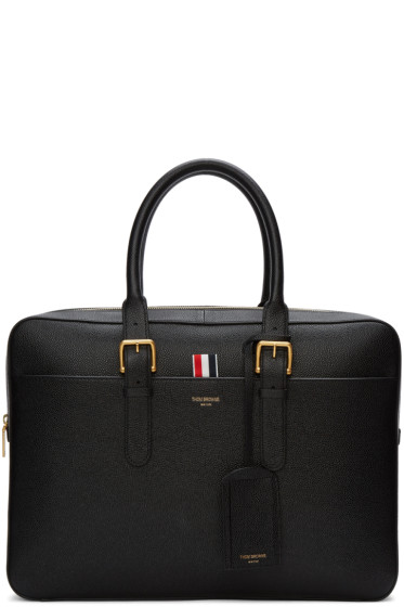Thom Browne - Black Business Briefcase