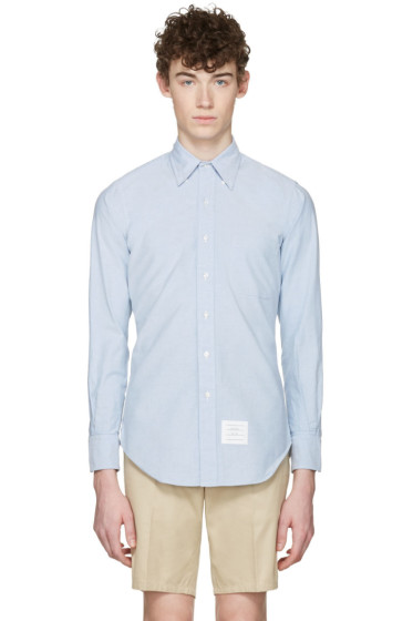 Thom Browne - Blue Oxford Classic Shirt