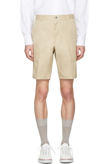 Thom Browne - Khaki Unconstructed Chino Shorts