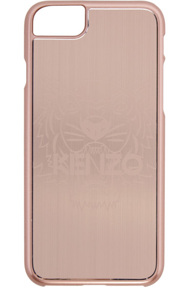 Kenzo - Pink Aluminum Tiger iPhone 7 Case