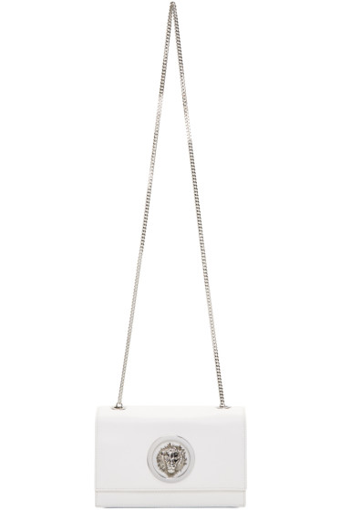 Versus - White Lion Medallion Bag