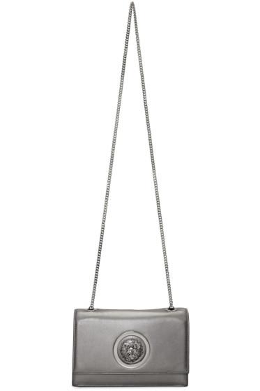 Versus - Silver Small Medusa Bag