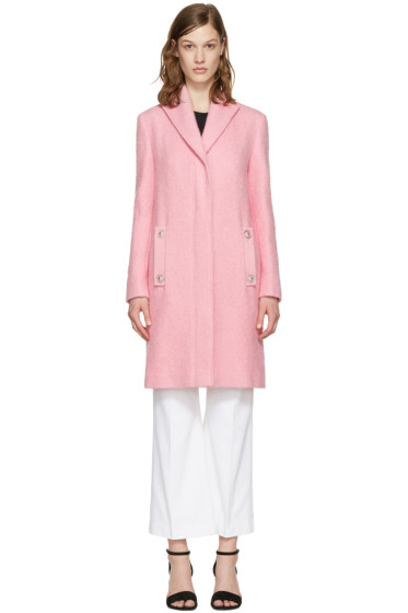Versus - Pink Lion Pin Coat