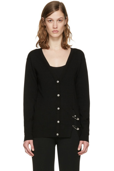 Versus - Black Double Pin Cardigan