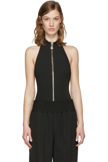 Versus - Black High Neck Bodysuit