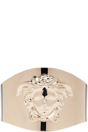 Versace - Gold Medusa Cuff Bracelet