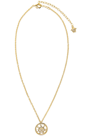 Versace - Gold Small Pendant Necklace