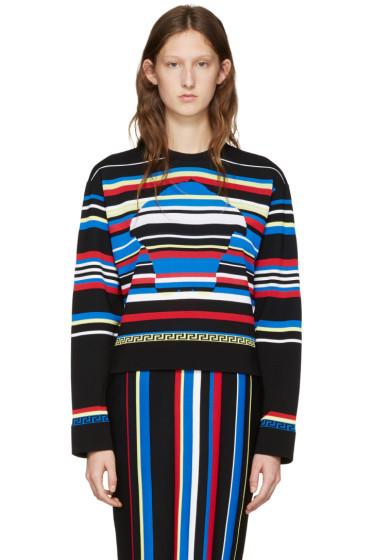 Versace - Multicolor Striped New York Pullover