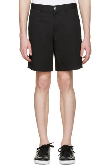 Versace - Black Medusa Bermuda Shorts