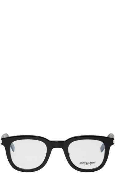 Saint Laurent - Black SL 141 Slim Glasses