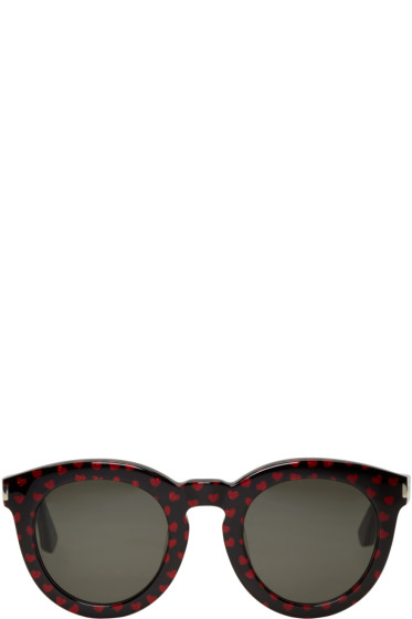 Saint Laurent - Black SL 102 Sunglasses
