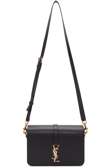 Saint Laurent - Black Medium Monogram Université Bag
