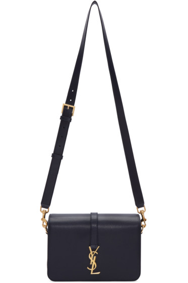 Saint Laurent - Navy Medium Monogram Université Bag