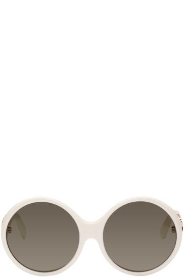 Saint Laurent - Ivory SL M1 Sunglasses