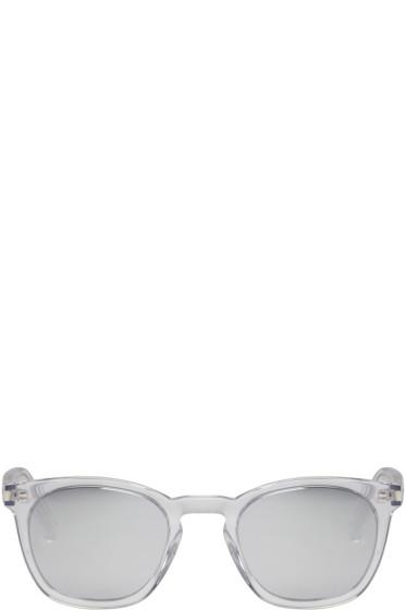 Saint Laurent - Transparent SL 28 Sunglasses