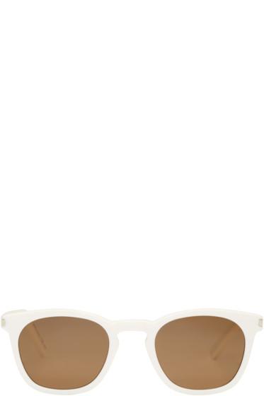 Saint Laurent - Ivory SL 28 Sunglasses