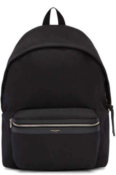 Saint Laurent - Black Classic City Backpack