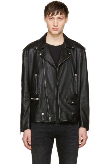 Saint Laurent - Black Sweet Dreams Oversized Jacket