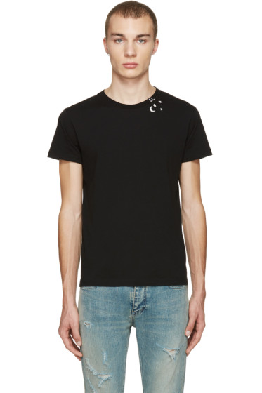Saint Laurent - Black Constellation T-Shirt